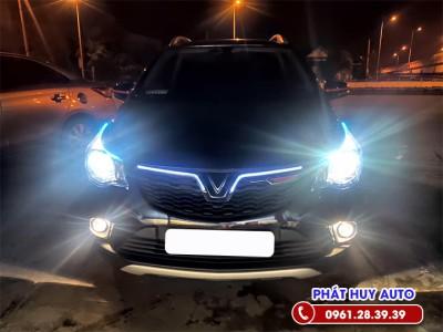 Độ đèn bi xenon xe Vinfast Fadil