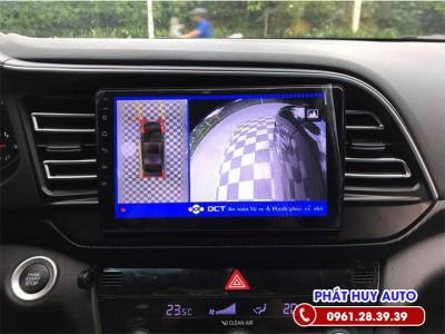 Camera 360 độ DCT xe Hyundai Elantra 2020