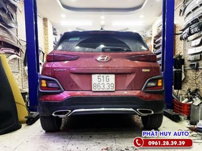 Độ pô Hyundai Kona kiểu Mercedes đẳng cấp