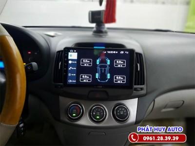 Màn hình DVD Hyundai Avante Android chính hãng
