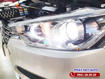 Độ đèn bi xenon xe Suzuki Ertiga