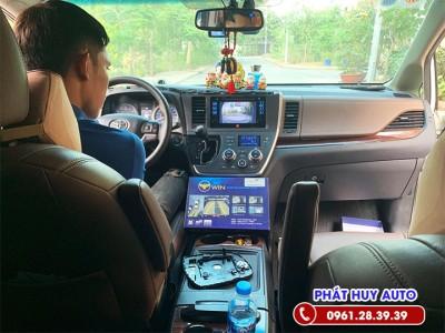 Camera 360 độ xe Toyota Sienna