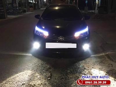 Độ đèn bi gầm Toyota Corolla Altis giá rẻ, siêu đẹp