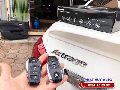 Chìa khoá thông minh Start Stop Xe Mitsubishi Attrage