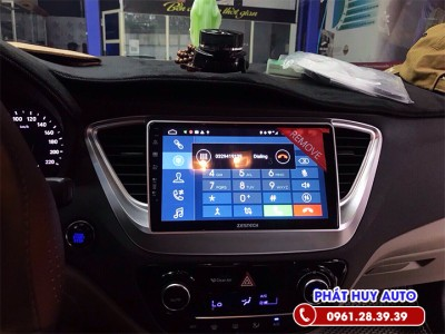Màn hình DVD Hyundai Accent chính hãng