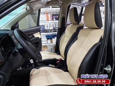 Bọc ghế da Suzuki XL7 trang nhã, sang trọng