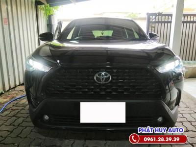 Độ đèn led Toyota Corolla Cross tăng sáng