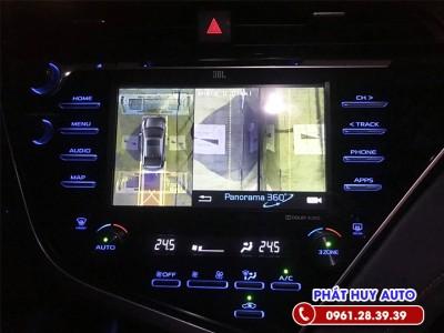 Camera 360 độ Toyota Camry 2020