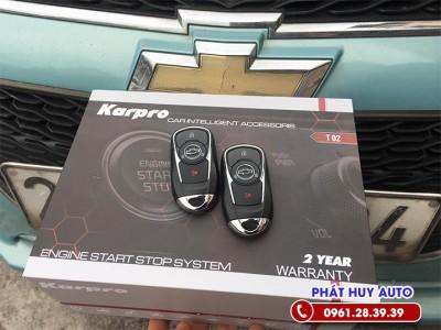 Độ chìa khoá thông minh Start Stop Chevrolet Spark
