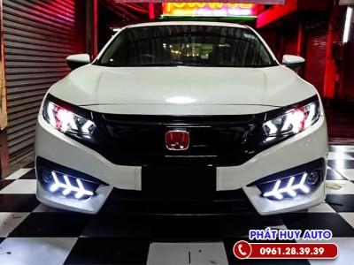 Đèn pha nguyên bộ Honda Civic 2021