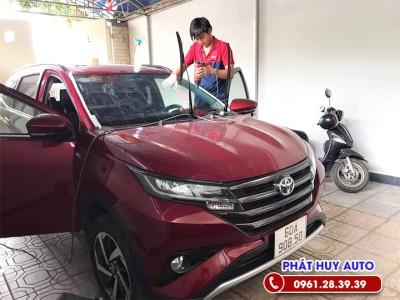 Dán phim cách nhiệt Toyota Rush 2021