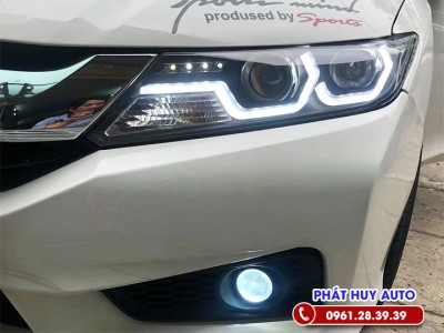 Thay đèn pha nguyên cụm  Honda City