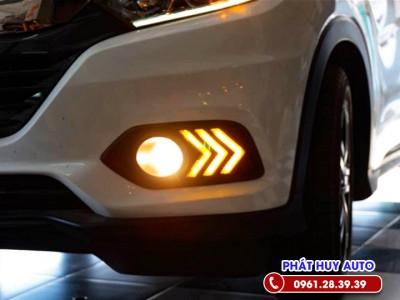 Độ đèn Led gầm trước xe Honda HRV