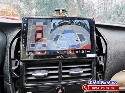 Camera 360 độ Toyota Yaris 2021