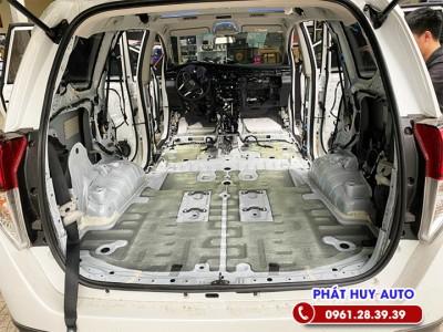 Cách âm chống ồn Toyota Innova 2021