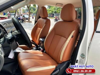 Bọc ghế da Mitsubishi Triton 2021