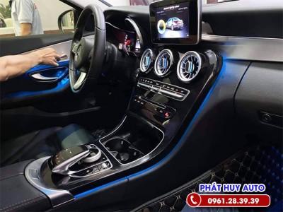 Độ đèn Led nội thất Mercedes C200