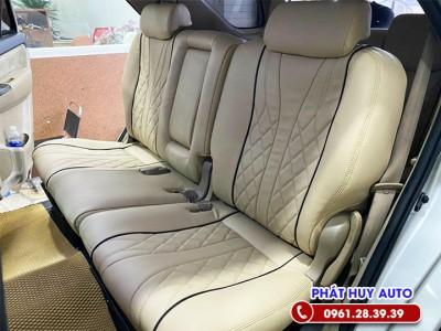 Bọc ghế da Toyota Fortuner 2021
