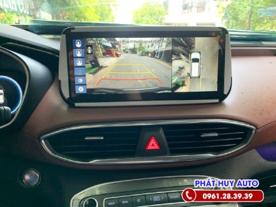 Camera 360 độ Hyundai Santafe 2021