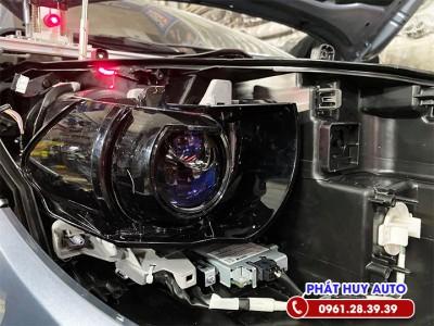 Độ đèn bi Led Toyota Cross