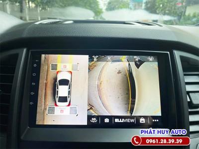 Camera 360 độ Elliview Ford Ranger 2020