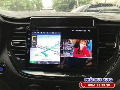 Màn hình DVD Android Hyundai Accent 2021