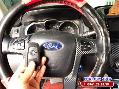Chìa khóa thông minh Start Stop Ford Ranger Wildtrack