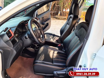 Bọc ghế da Honda Brio