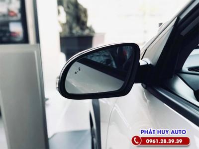 Cảnh báo điểm mù BSD ô tô