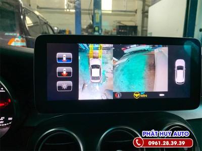 Camera 360 độ Mercedes C250