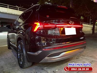 Độ đèn led cốp Hyundai Santafe 2021