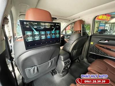 Màn hình gối đầu Hyundai Santafe 2021