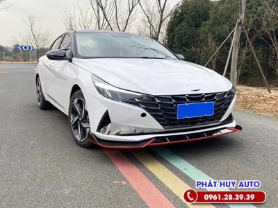 Lip cản trước Hyundai Elantra 2020 - 2021