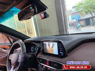 Camera cập lề Hyundai Santafe