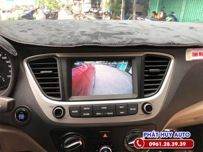 Camera cập lề xe Hyundai Accent