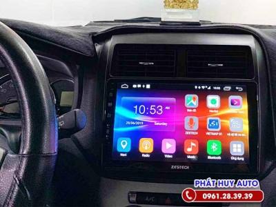 Màn hình DVD Android Toyota Wigo zin theo xe