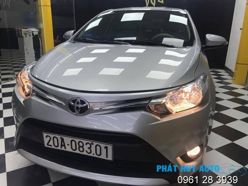 Phủ nano ceramic xe Toyota Vios