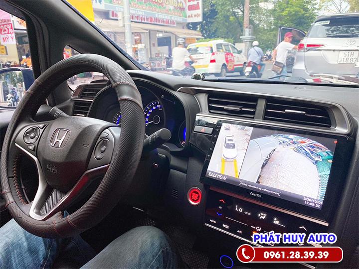 Lắp Camera 360 độ xe Honda Jazz 2020 tận nhà giá rẻ